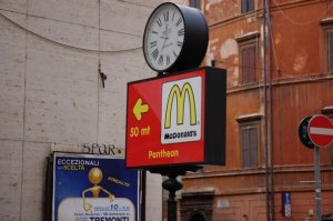 McDonalds Pantheon