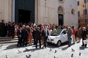 Wedding Smart Car
