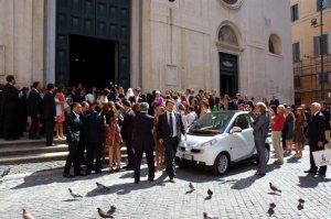 Wedding Smart Car