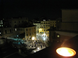 View of Piazza di Spagna