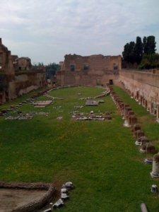 'Hippodrome', Domitian's palace