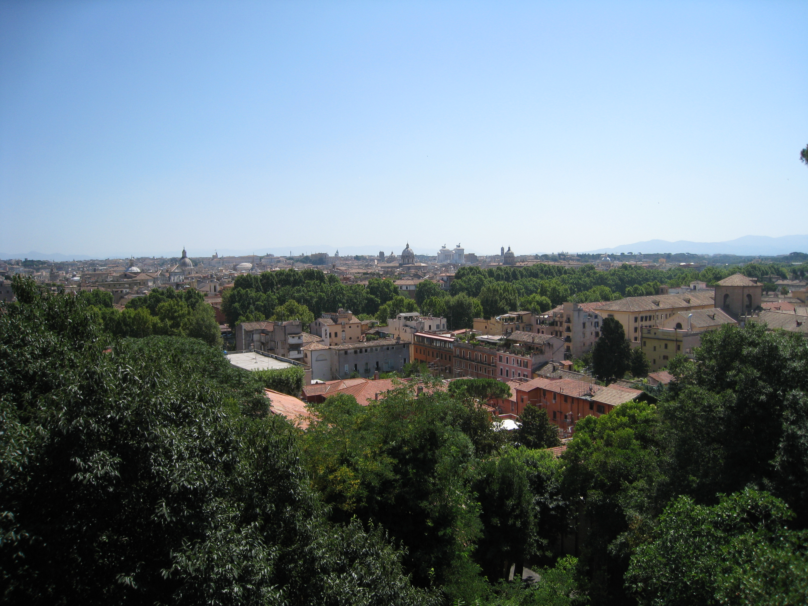 A walk on the Janiculum Hill